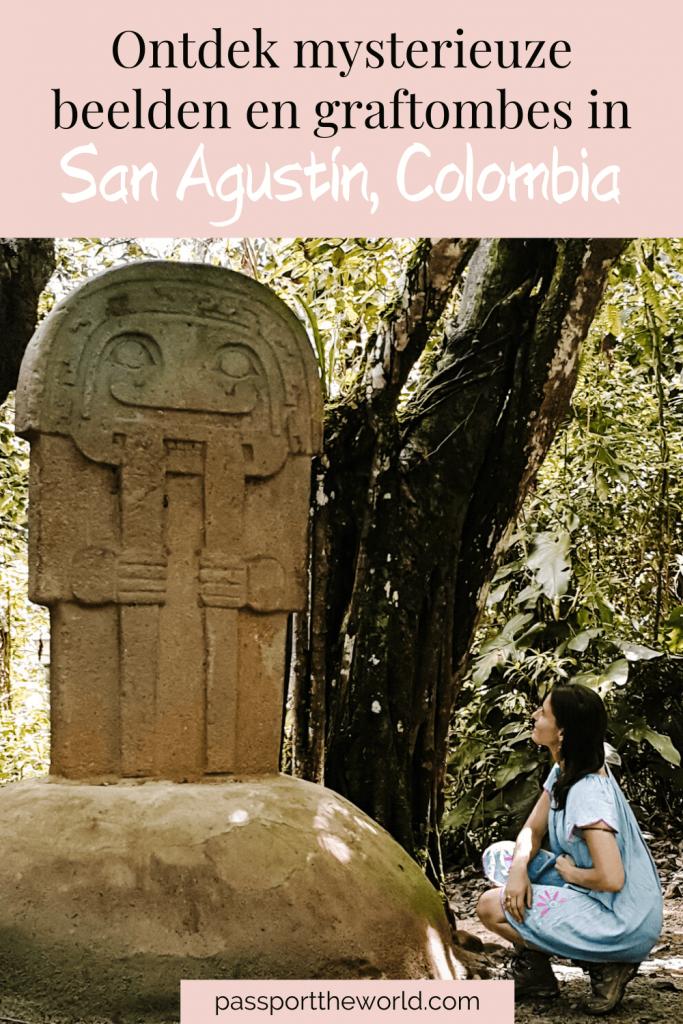pin San Agustín Colombia
