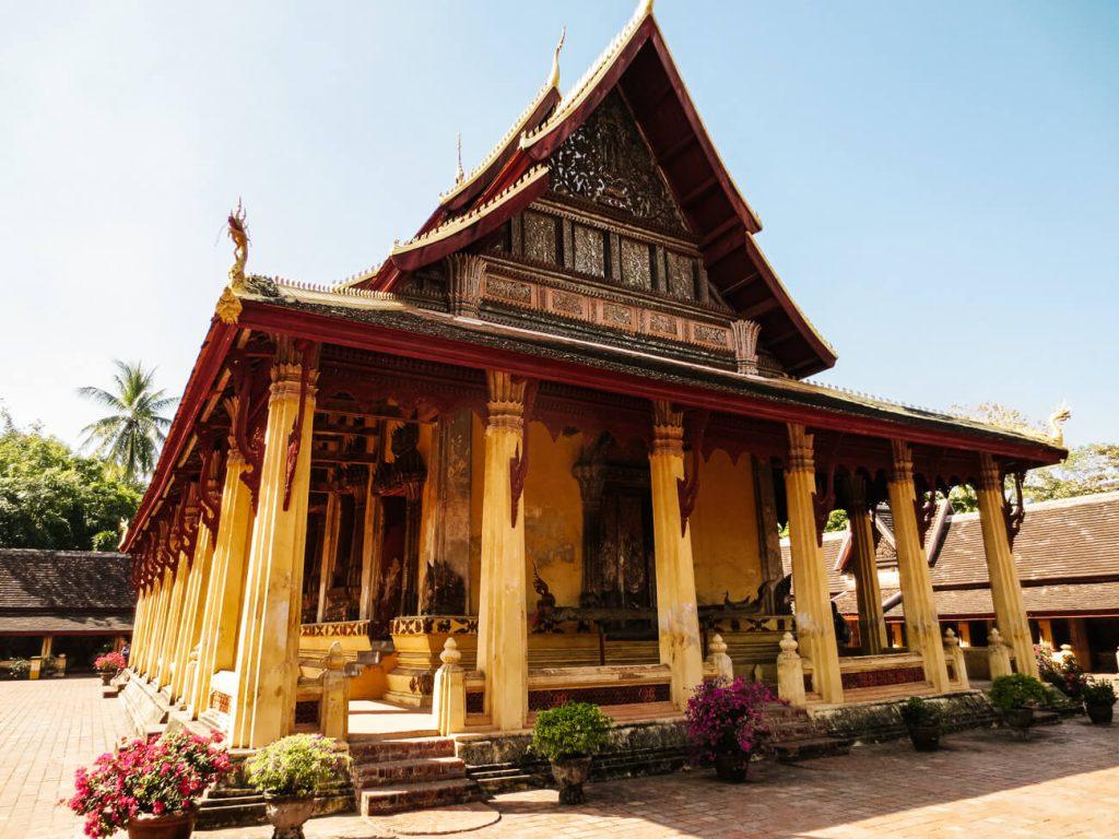 wat te doen in Vientiane wat si saket tempel