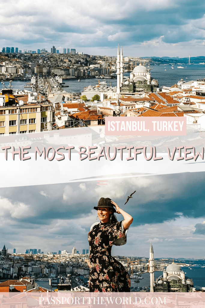 best view Istanbul pin