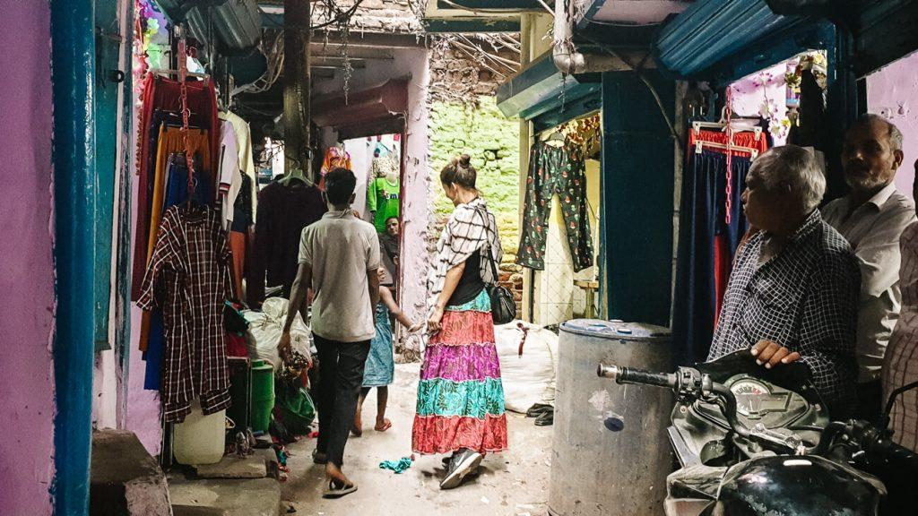 Sanjay Colony Delhi Slum tour
