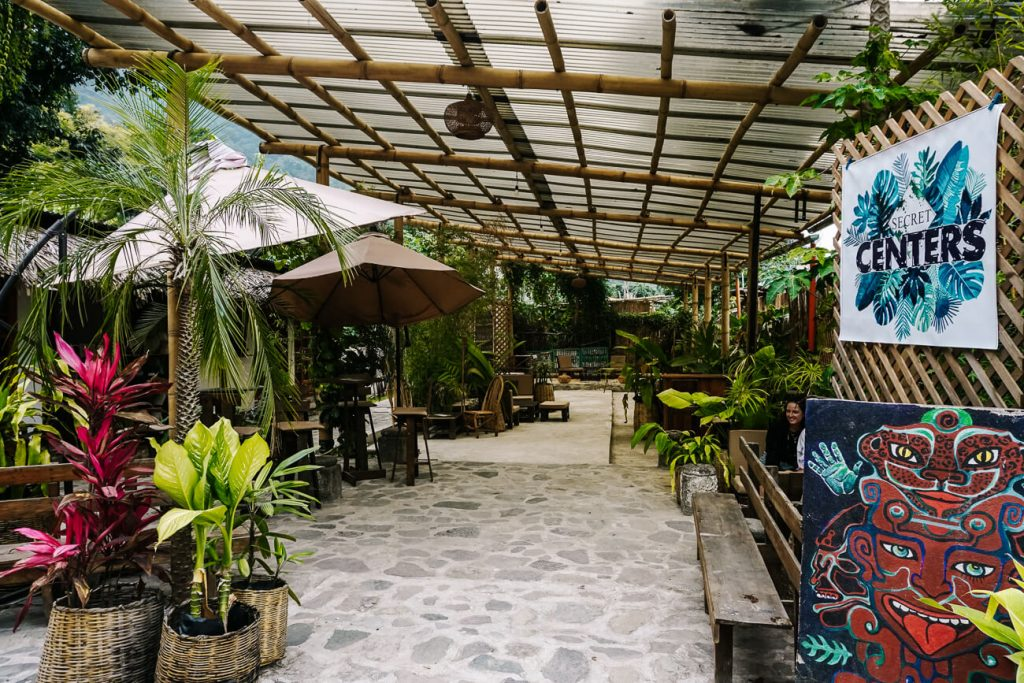 restaurant in San Marcos Lago de Atitlan
