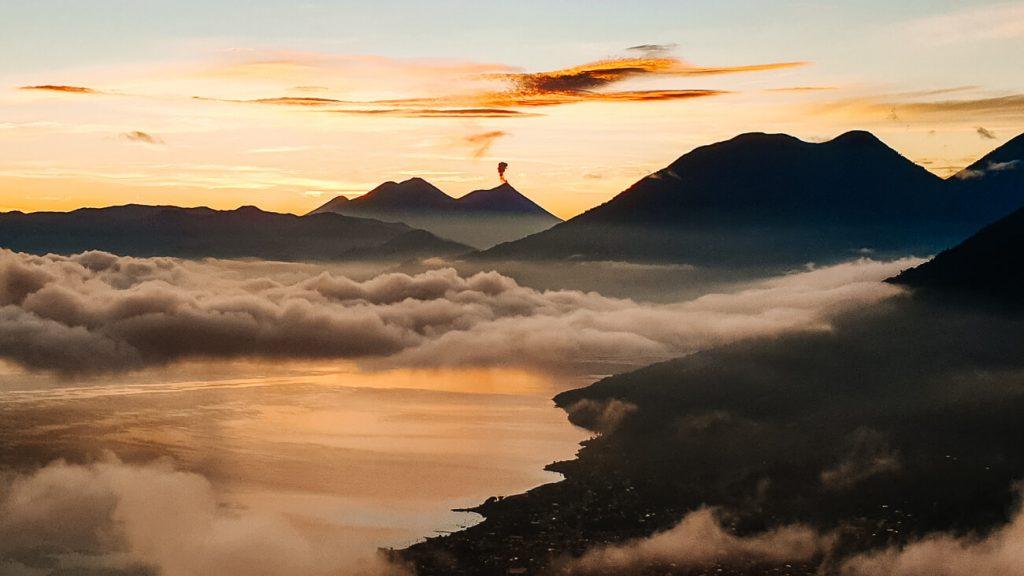 Indian Nose viewpoint | 1 week Guatemala itinerary