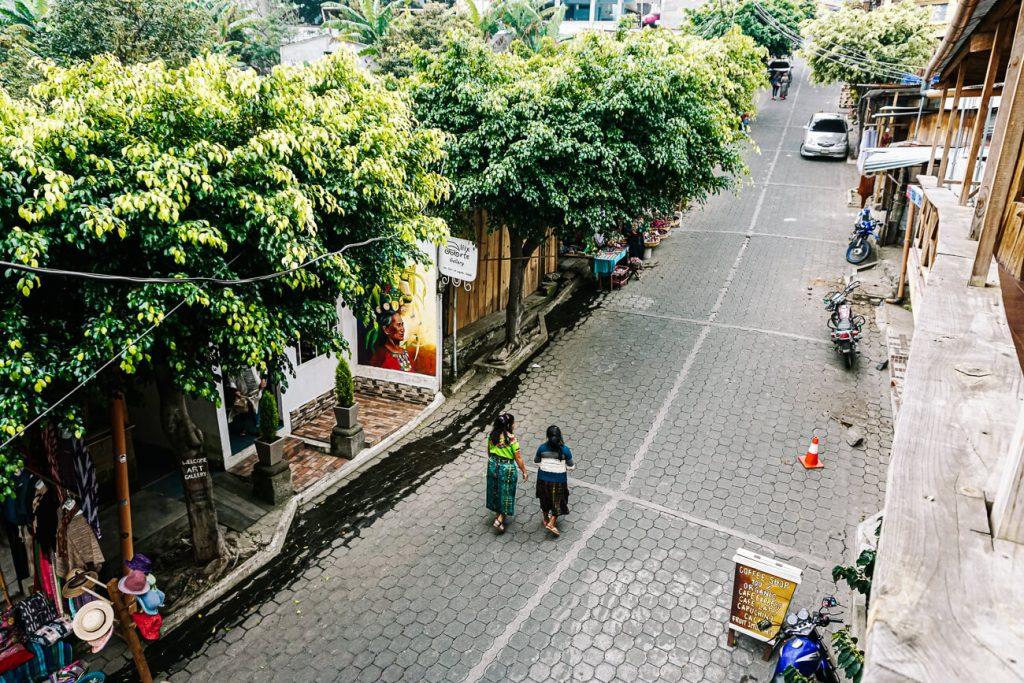 streets in San Juan La Laguna