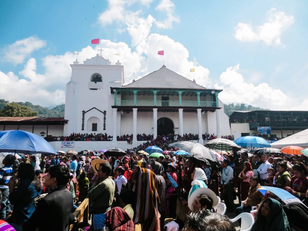 church in Santiago de Atitlan Guatemala