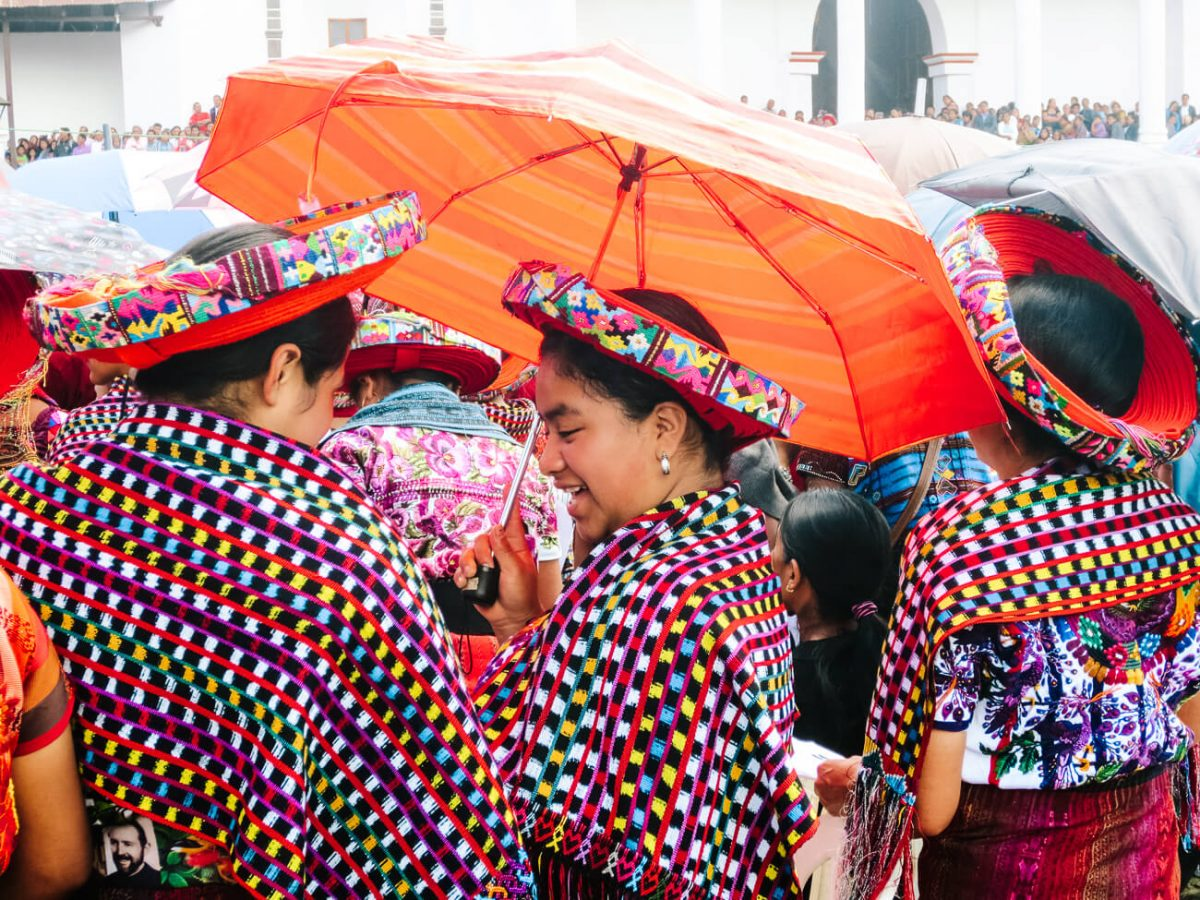 women at lake Atitlan | Guatemala 3 week itinerary