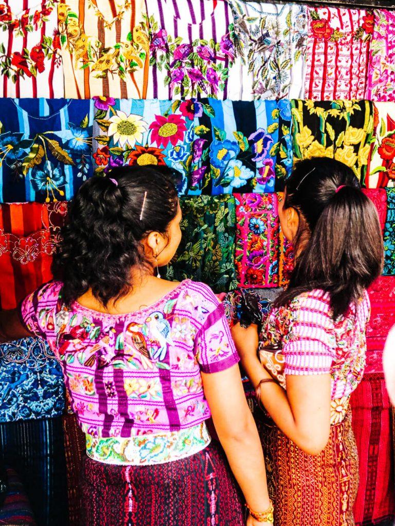 Guatemalan market Chichicastenango