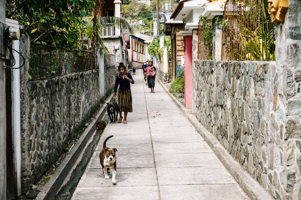 village in Lake atitlan, one of the best things to do