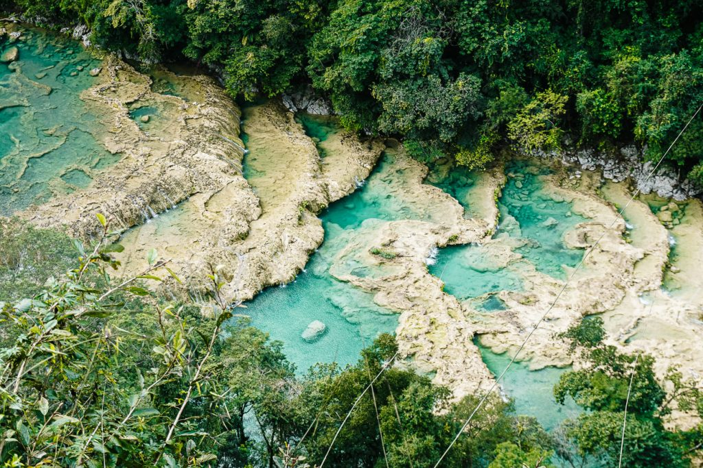 things to do in Semuc Champey | visit the viewpoint