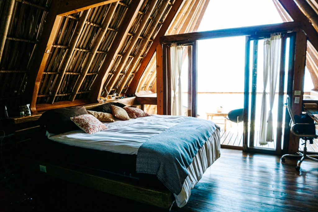 room La fortuna lake Atitan, one of the best places to stay in Guatemala
