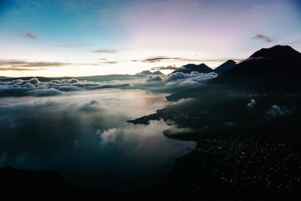 Indian Nose viewpoint | Lago de Atitlán