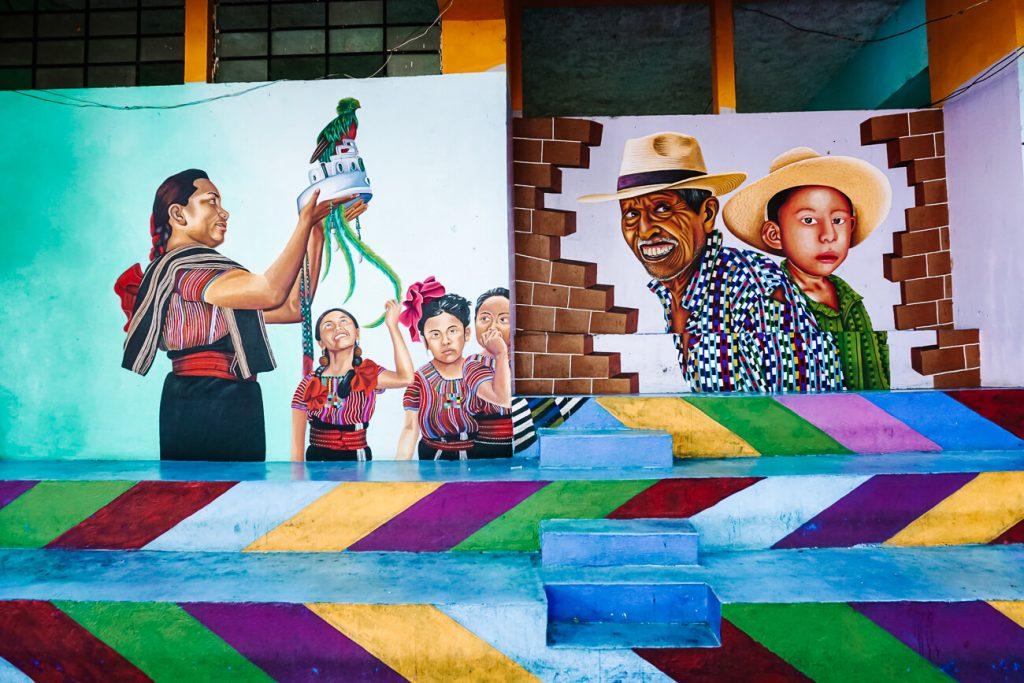 streetart in San Juan La Laguna