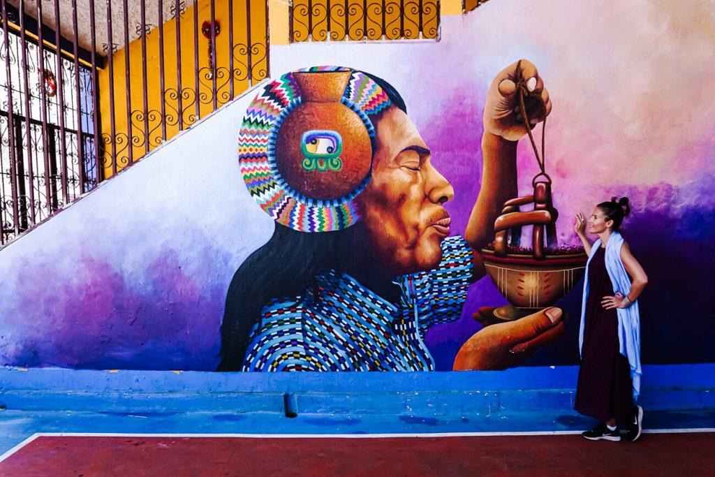 streetart inn San Juan La Laguna