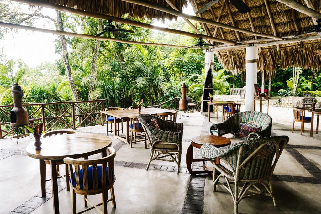 restaurant at La Lancha