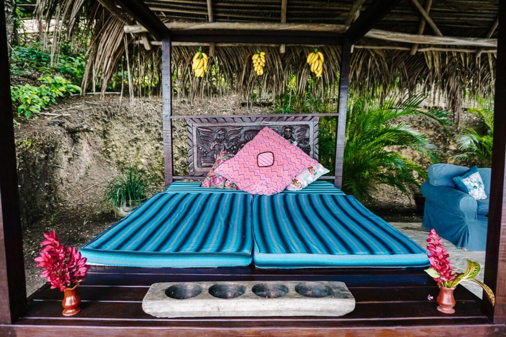 lounge area at el mirador   resort of La Lancha by Coppola in Guatemala