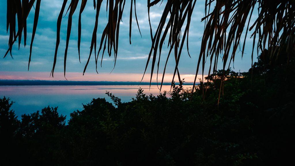 view of lago peten itza Guatemala