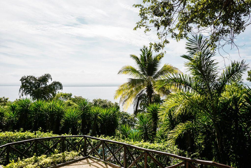 uitzicht op lago Peten Itza