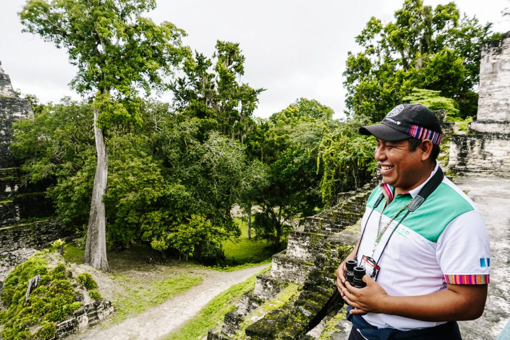 guide Tikal Go in tikal national park guatemala
