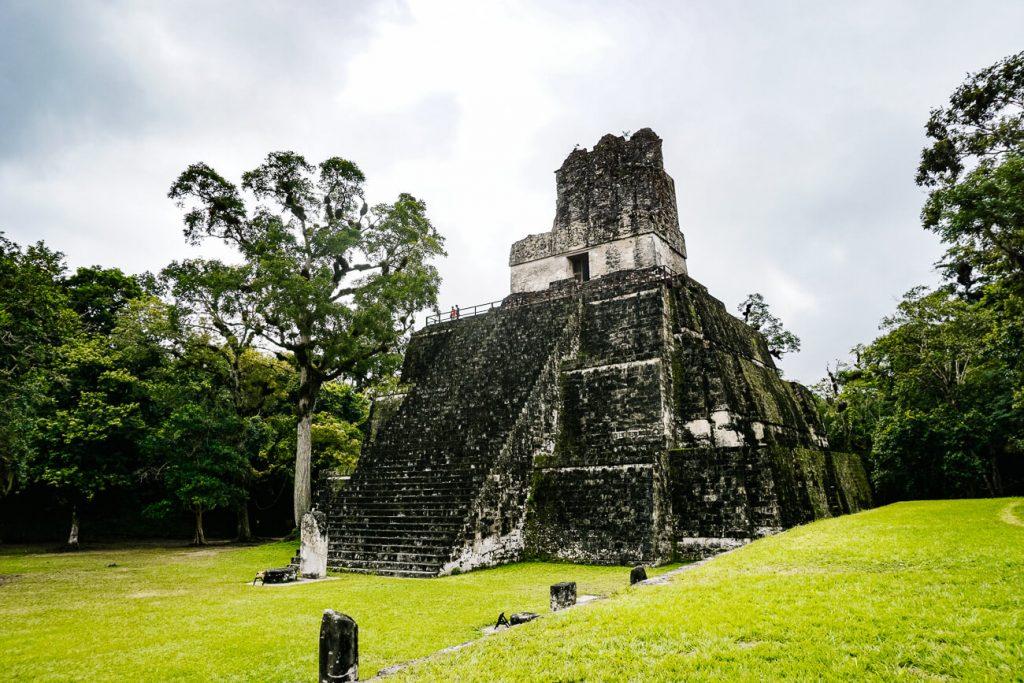 ruin in Tikal