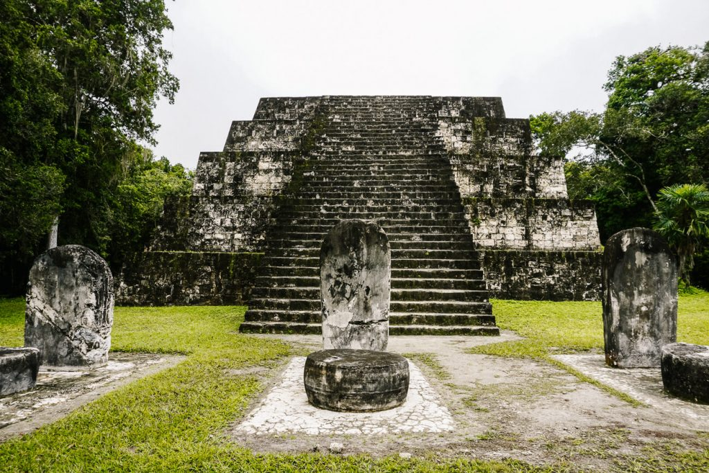 twin pyramids to see during a day trip to tikal