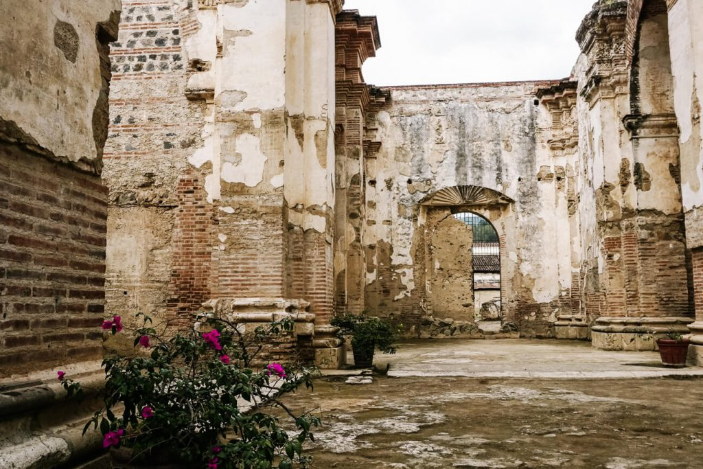 visit the ruins of the cathedral, one of the best things to do in Antigua guatemala