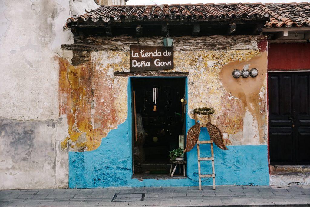 la tienda de dona gavi voorkant