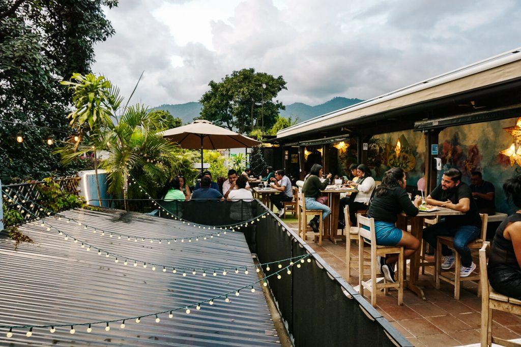 dakterras van Luna de Miel in Antigua