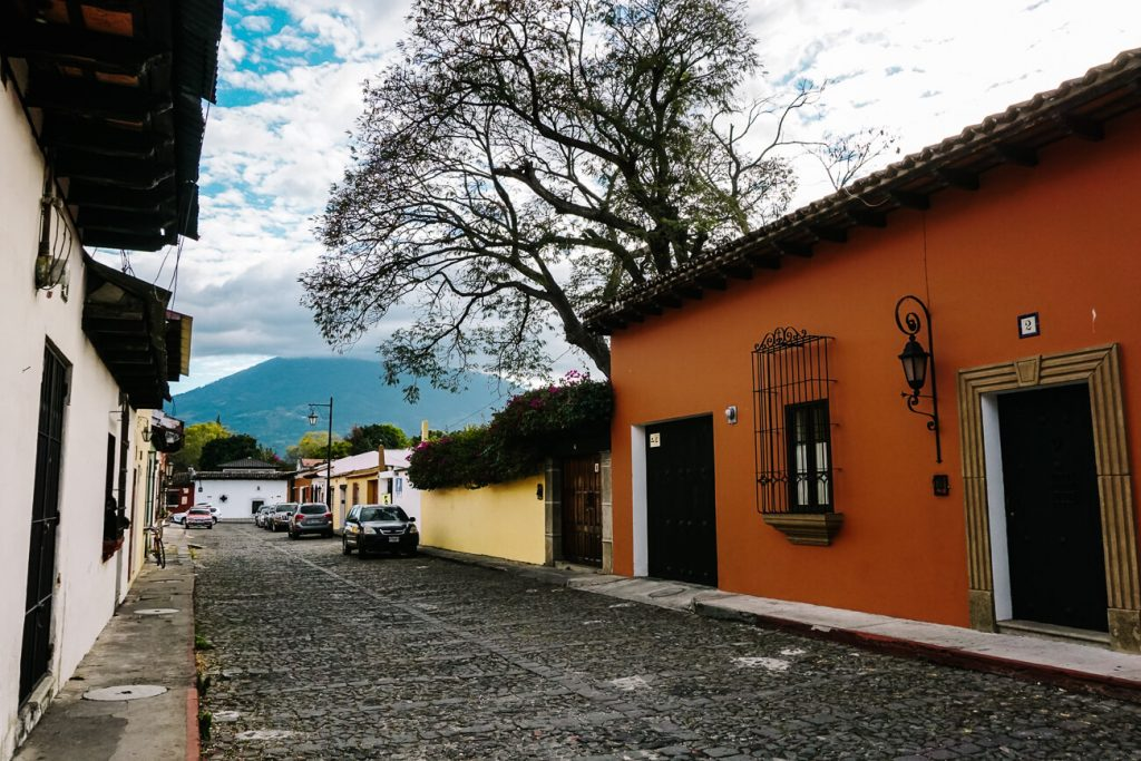 colorful streets in guatemala
