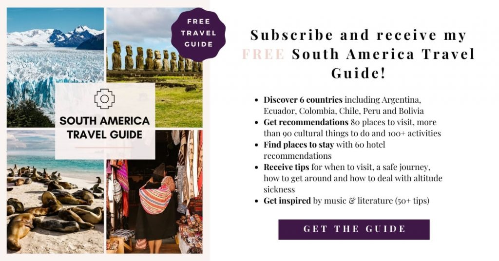 Free South America travel guide
